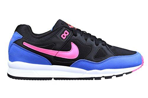 Nike Air Span II, Chaussures de Running Compétition Homme, Bleu Foncé Noir