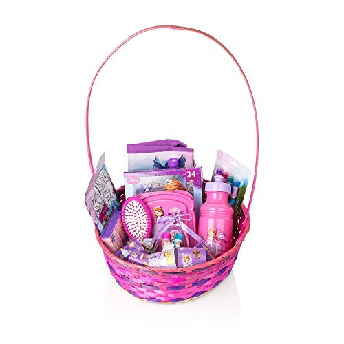 Disney Frozen Sofia The First Baby Girl Gift Basket, 20+ Piece Bundle Filled Basket of Fun Gift Set (3-10 Years Old Girls), Perfect for Birthdays, Easter, Christmas, Get Well, or Other Occasion! CHINA SUPPLIER