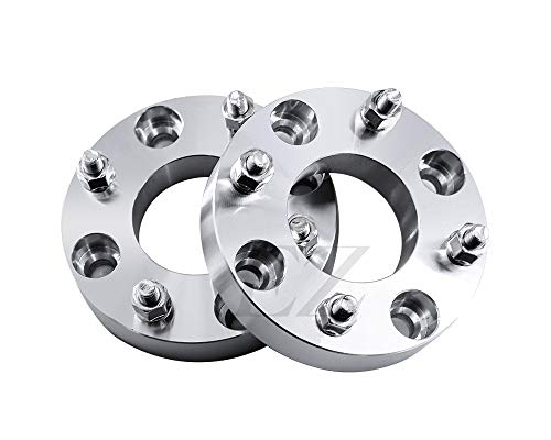 2 Wheel Adapters Spacers 4x4.25 to 4x4.25 (4x108 to 4x108) Thickness 1.5 Inch 12x1.5 Studs