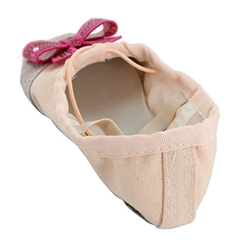 Womens Yoga Ballet Practice Dancing Shoes Natural 5o3rb