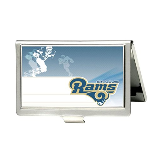St Louis Rams Business Card Holders Mizzoucompare Com