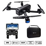Contixo F22 RC Foldable Quadcopter Drone | Selfie, Gesture, Gimbal 1080P WiFi Camera, GPS, Altitude Hold, Auto Hover, Follow Me, Waypoint Includes Drone Storage Case Review