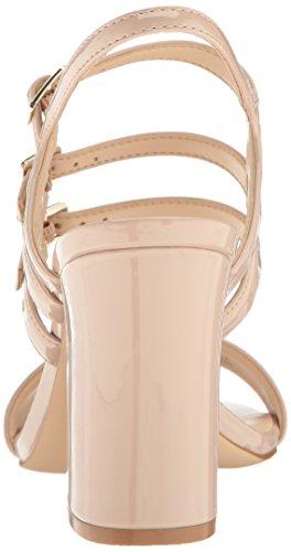 Nine West NWHADIL3, Damen Offene Sandalen mit Keilabsatz, Beige (Cashmere), 39 EU (7 UK)