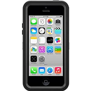 OtterBox [Defender Series] Case for iPhone 5c - Retail Packaging Protective Case for iPhone - Black