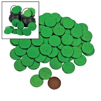 Green Gold Coins