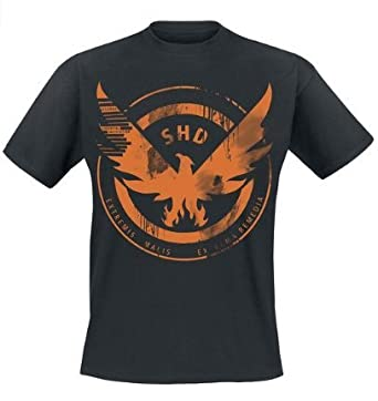 269a4569818a Amazon | Tom Clancy's The Division SHD Black Eagle T-Shirt - Small ...