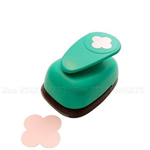 Envelope Craft Punch - Bira 3 inch Mini Round Envelope Lever Action Craft Punch for Paper Crafting Scrapbooking Cards Arts DIY Project