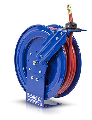 Coxreels P-LP-450 Low Pressure Retractable Air/Water Hose Reel: 1/2