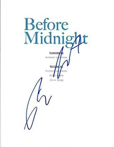Richard Linklater Signed Autographed BEFORE MIDNIGHT Movie Script COA VD