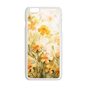 Art white flowers cell phone Tqg3h32D8Rc Case Cover For Apple Iphone 4/4S