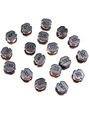 Inductors 130pcs 13Values CD54 SMD Power Inductor Assortment Kit 2.2UH-470UH Chip Inductors CD54 Wire Wound Chip