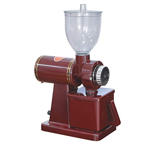 Electric Coffee Grinder Machine Coffee Milling Grinding Home Coffee Bean Grinder,110V 130V Red
