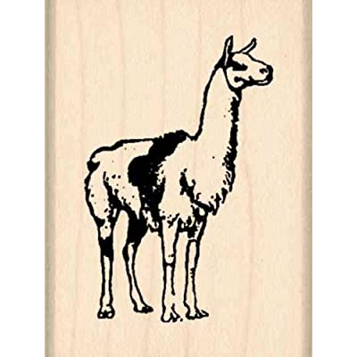 Stamps by Impression Llama Rubber Stamp: Arts, Crafts & Sewing