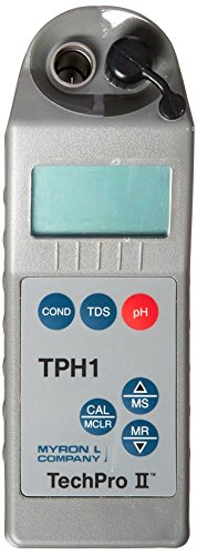 Tds Controller - Myron L TPH1, Conductivity, TDS, pH, Temperature TECHPRO II Digital Meter