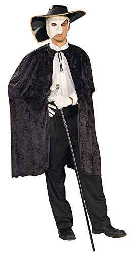 Recycled Material Costumes Ideas - Forum Novelties Operatic Phantom Costume, Black,
