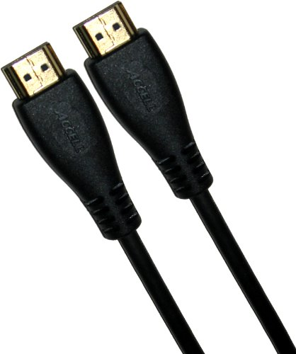Accell Hdmi A/v Cable - Accell A103C-006B High Speed HDMI Cable with Ethernet - 6.5 Feet (2 Meters), HDMI 2.0 Compliant for 4K UHD @ 60Hz