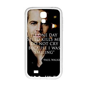 Paul Walker New Style High Quality Comstom Protective case cover For Samsung Galaxy S4