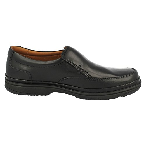 Clarks Swift Step - Botas de cuero para hombre negro negro One Size Fits All Black Leather