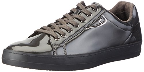 Tamaris 23606, Baskets Basses Femme Gris (Graphite Pat 263)