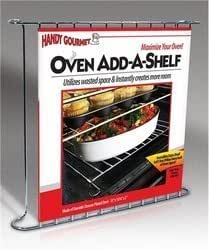 Handy Gourmet JB6442 Oven Add-a-Shelf Rack by Jobar International, Inc.
