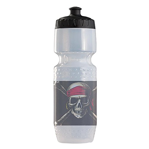 Sports Beverage Water Cycle Bottle Pirate Skull Crossbones