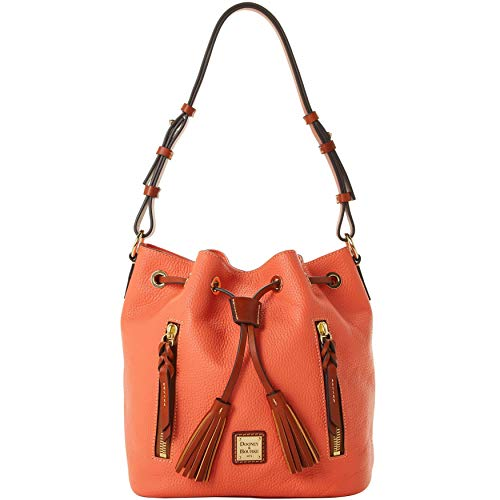 Dooney & Bourke Pebble Grain Cooper Drawstring Shoulder Bag
