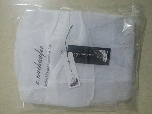 Xnaihuafei Bridal White/hoopless/short Crinoline Petticoat/slips/underskirt