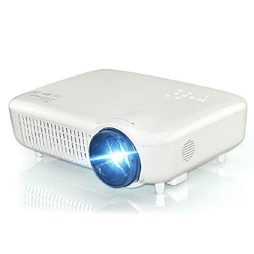 HD Home Led Projector, Support 1080P, External Mobile Phone with The Same Screen, Micro-Projection,Portable Miniature HD Projector,Home Theatre from WSJ