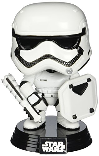 Funko Pop Star Wars: First Order Stormtrooper (Riot Gear) Exclusive Vinyl Bobble Head
