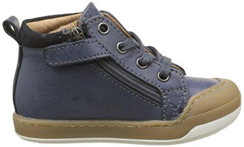 Shoo Pom Kidur - Zapatos de primeros pasos Bebé-Niñas Azul - Bleu(Snow Night)