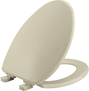 product image for BEMIS 7300SLEC 006 Toilet Seat will Slow Close and Removes Easy for Cleaning, ELONGATED, Bone
