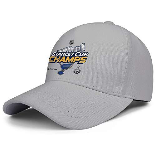 NHOLLOL Unisex Men's Woman's Caps 2019-Stanley-Cup-Champions-Locker-Room- Retro Hiking Cap Hats