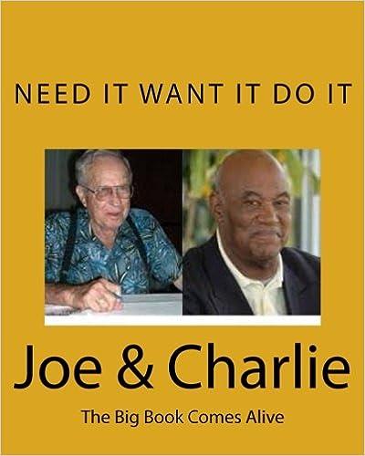 Book Joe & Charlie: The Big Book Comes Alive