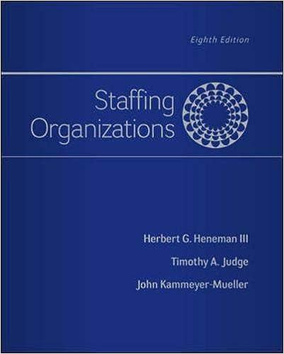 Staffing Organizations: 9780077862411: Human Resources Books