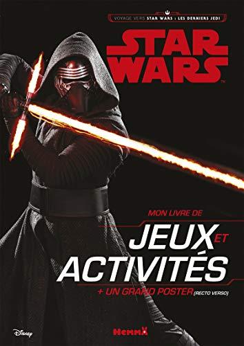 Mon Livre De Jeux Et Activités Star Wars : Les Derniers Jedi : Avec Un Grand Poster