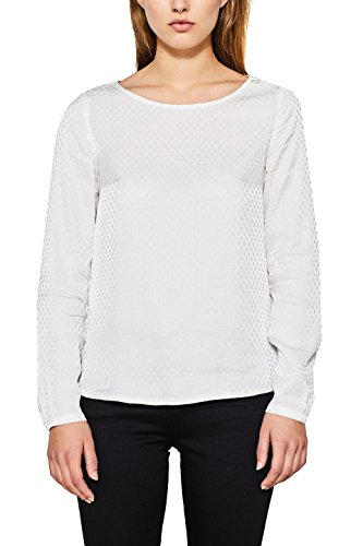 110 Para off Blanco Esprit Collection White Blusa Mujer qnwW8z0