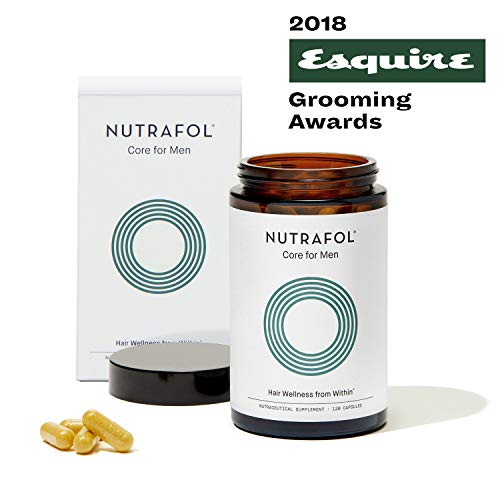 Men Advanced Thinning Hair & Hair Loss Super Supplement Patented and Clinically Proven Ingredients Next Generation Nutraceutical Formulation 120 capsules with 2,800mg Daily Dose