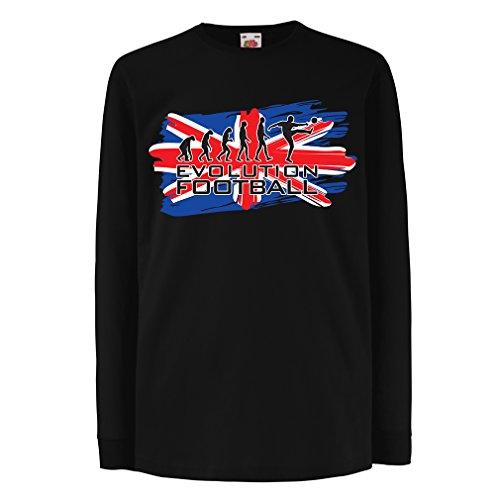 Ger Gator (T-Shirt For Kids Evolution Football (12-13 Years Black Multi Color))