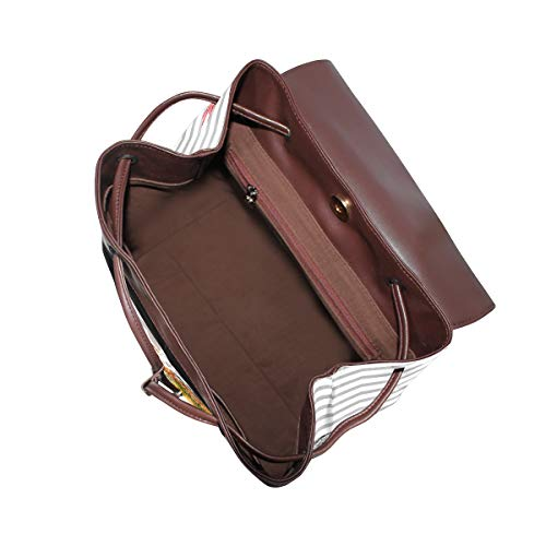 Elefant ryggsäck handväska mode PU-läder ryggsäck ledig ryggsäck för kvinnor