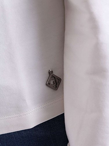Gaudi jeans 721BD64033 Felpa Donna Bianco M