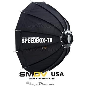 SMDV Diffuser SPEEDBOX-S70B - Professional 28-inch (70cm) Rigid Portable Quick Folding Dodecagon Softbox - Bowens S-Type Mount (DA-02) - Legio Limited Edition
