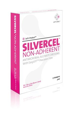Silvercel Antimicrobial Alginate Dressing - 2 x 2