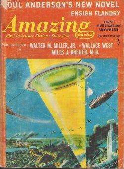 AMAZING Stories: October, Oct. 1966 (