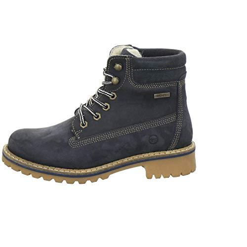 26243 Dark Boots Chukka Blue Women''s Tamaris FH5qwYT5