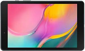 "Samsung Galaxy Tab A 8.0"" 32 GB Wifi Android 9.0 Pie Tablet Black (2019) - SM-T290NZKAXAR (Renewed)"