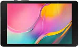 "Samsung Galaxy Tab A 8.0"" 32 GB Wifi Android 9.0 Pie Tablet Black (2019) - SM-T290NZKAXAR (Renewed)"