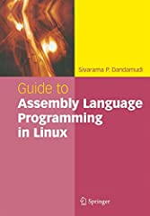 Introduces Linux concepts to programmers who are familiar with other operating systems such as Windows XP Provides comprehensive coverage of the Pentium assembly language