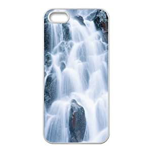 Customized case Of Waterfall Hard Case for iPhone 5,5S