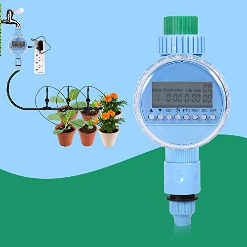 Electronic Water Timer – Garden Irrigation Controller Ac Pro Auto Water Saving Lcd Digital Watering Timer Us Plug Electronic – Electronic Valve Timer Water Controller Watering Solenoid Sp