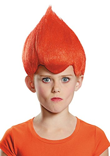 Red Wacky Child Wig, One Size (Box Troll Halloween Costume)